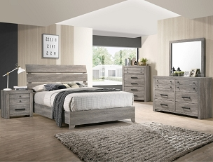 Tundra Collection Platform Bedroom Collection